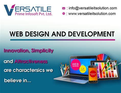 Website Design And Development Company by Banner Design 171 Versatile Prime Infosoft