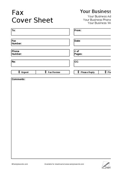 fax cover sheets new calendar template site