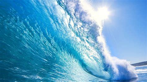 crystal blue waves  wallpaperscom