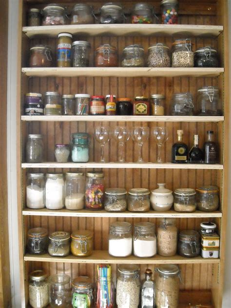 handcrafted spice rack of cherry with collected mason