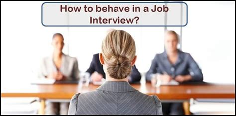 How To Get In Rbi After Mba by Tips How To Behave During An Career