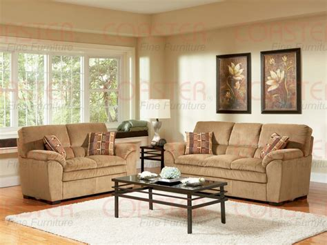 Corduroy Living Room Set Molly Caramel Corduroy Fabric 2 Living Room Set By Coaster 502421s
