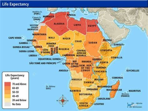 africa map geographical features africa geography