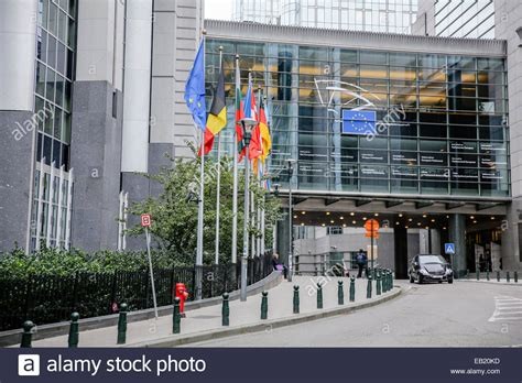 bureau union bruxelles european parliament union office building brussels belgium