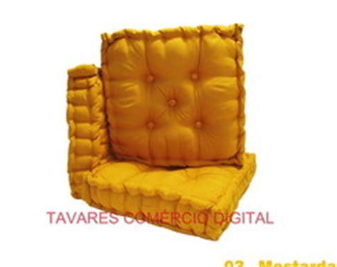 almofada futon 40x40 sof 225 de pallet elo7