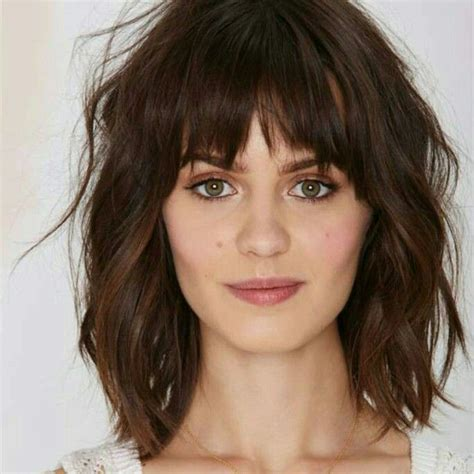 mona patterson hairstyles for older round faces 11 best medium length haircuts with bangs images on
