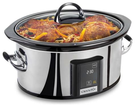 Slow Cooker Bed Bath And Beyond Crock Pot 6 5 Quart Slow Cooker With Elume Touchscreen