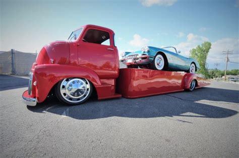 Hotwheels 1951 Gmc Coe gmc coe hauler cab air ride semi wheels wrecker tow