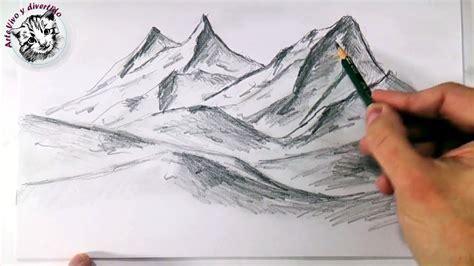 imagenes no realistas faciles de dibujar como dibujar monta 241 as realistas a lapiz faciles y paso a