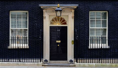 Handmade Kitchen Furniture history of the front door of no 10 downing street
