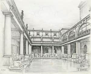Extra Small Baths - the great bath at the roman baths bath 1939 by 15636 at bath in time