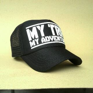 Topi My Trip My Adventure Yellow Logo By Crion model kaos my trip my adventure kini sedang booming