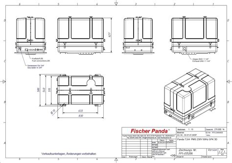 fischer panda generator wiring diagrams 3500l genset