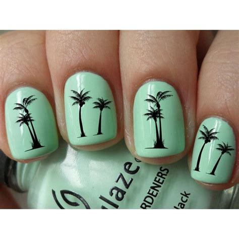 palm tree nail sticker palm tree nail decals 36 ct clothes nails hair my