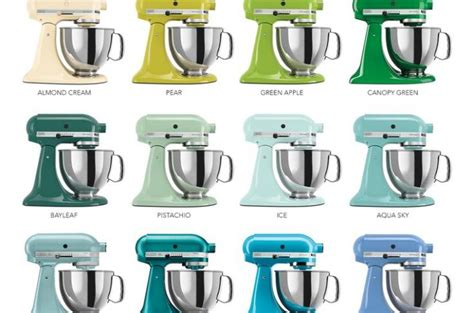 Kitchen Aid Mixer Colors Kitchen >> 15   Great Kitchen Aid