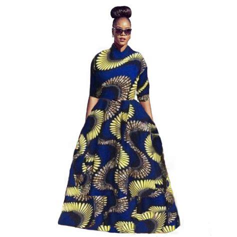 Dress Denimmaxi Dressdress Import Fashion Realpic 2017 traditional dresses clothing africa bazin riche dresses direct
