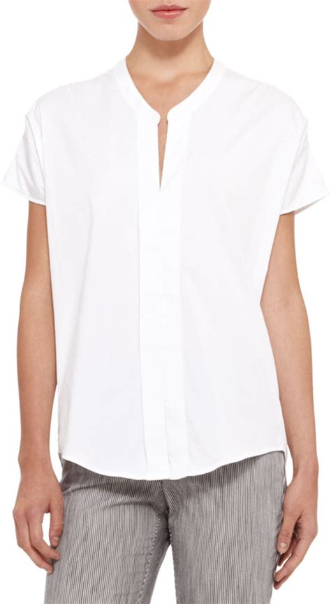 White Cotton Blouses For by White Blouse Fashion Ql