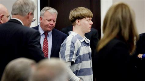 Dylann Roof Criminal Record Dylann Roof Now On Row In Federal Prison Wfmynews2