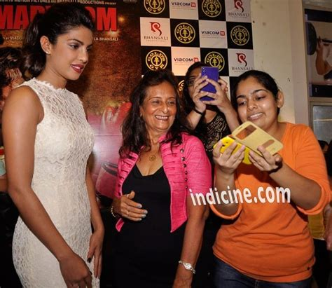 golds gym the fan schedule priyanka chopra with fans at gold s gym