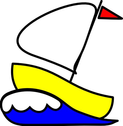 boat numbers images number 4 sailboat clip art at clker vector clip art