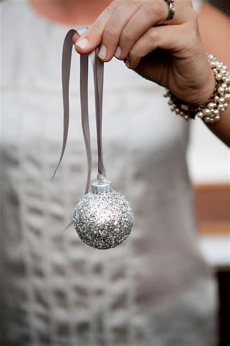 diy ornaments glitter 10 diy glitter tree ornaments shelterness