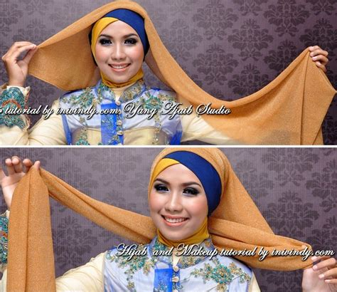 makeup natural  tutorial hijab wisuda terbaru ala vindy