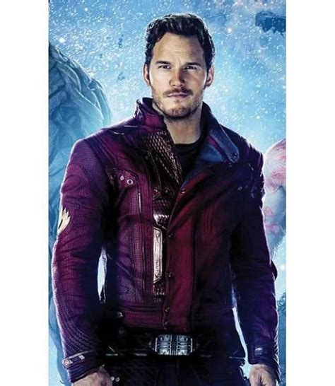 Guardian Of Galaxy Lord guardians of the galaxy chris pratt lord leather jacket