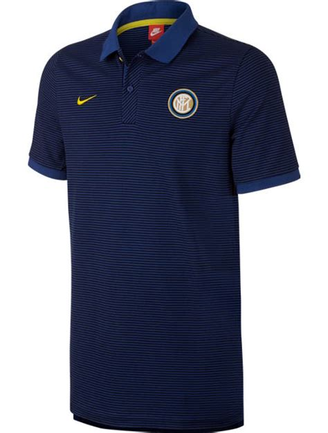 Polo Shirt Inter Milan Fc Murah authentic grand slam fc inter milan nike polo shirt navy 2016 17 sleeves ebay