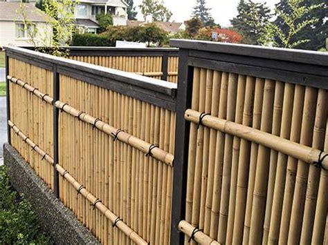 contoh desain model pagar bambu