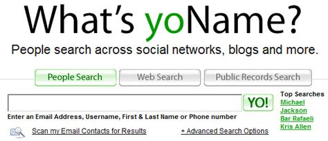 Yoname Search 5 Powerful Ways To From Alternative Search Engines