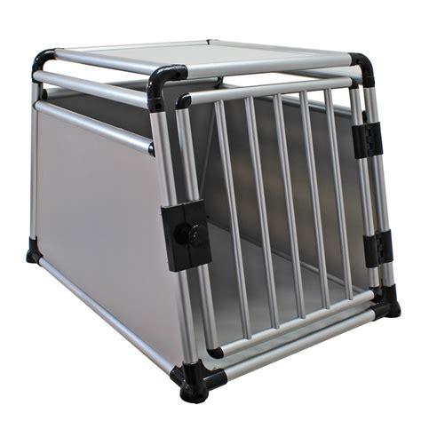 gabbia per cani per auto trasportino gabbia in alluminio per cani da auto