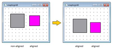 qt grid layout alignment snap to grid while moving qgraphicsitem