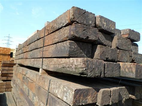 Railway Sleepers Corby by Railway Sleeper Timber Merchant In Corby Uk