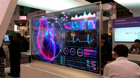 samsung oled samsung transparent oled display at himss 2016 annual meeting