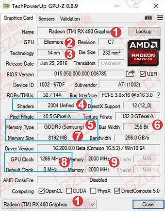 Powercolor Rx470 4gb Ddr5 new photos of amd radeon rx 480 8gb card leaked