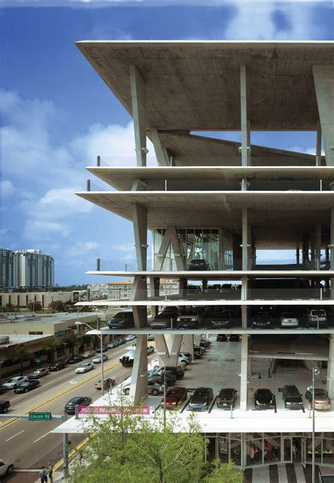 Rd Garage by 1111 Lincoln Road By Herzog De Meuron Miami Usa