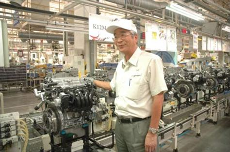 Suzuki Plant Shinzo Nakanishi Maruti Suzuki S Unsung Crisis Manager
