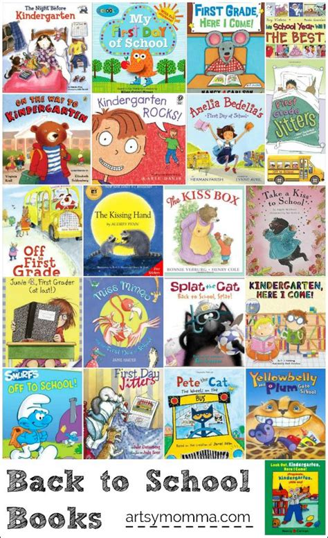 back to school picture books back to school books for kindergarten and 1st grade
