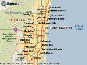 map of fort lauderdale florida area jeffrey pealer s web page