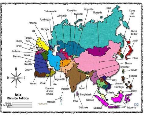 descolonizacion de asia y africa mapa conceptual informaci 243 n e im 225 genes con mapas de asia pol 237 tico f 237 sico