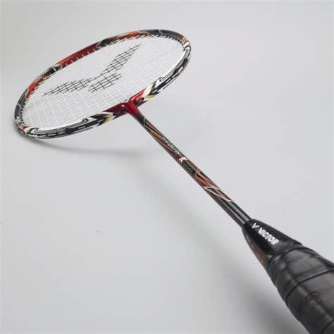 Raket Victor Nano 6 jual raket bulutangkis victor thruster k8000 badminton
