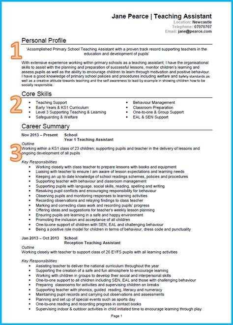 how to write a cv cvs exle of a cv