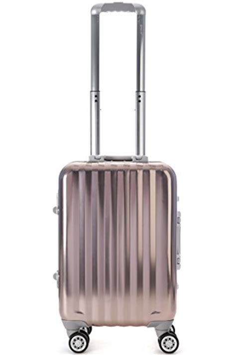 best rugged luggage aerolite premium total security ultra secure rugged aluminium metal shell luggage suitcase