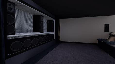 bowers wilkins custom theater  cinema room custom