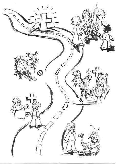 Desenhos da Quaresma e Páscoa – Colorir e Aprender