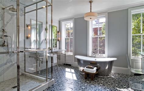 try the trend solid glass backsplashes porch advice 10 gorgeous ways to do patterned tile in the bathroom porch advice