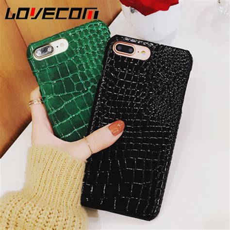 Pattern 0853 Casing For Iphone 7 Plus Hardcase 2d phone for iphone 7 7 plus luxury crocodile pattern slim leather cover for apple iphone