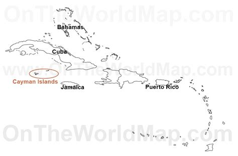 cayman islands map caribbean map of cayman islands caribbean pictures to pin on