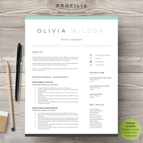 free modern resume templates word 28 minimal creative resume templates psd word ai