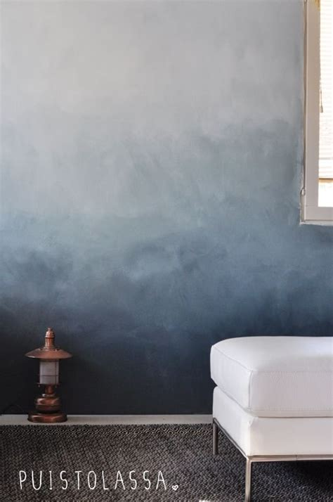 gorgeous grey ombre wall check  blog   tutorial